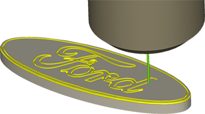 CAD / CAM Mill Software OneCNC